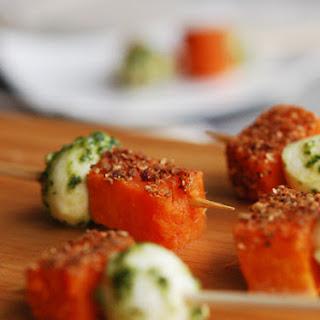 Mini Corn Cakes with Crème Fraîche & Smoked Salmon