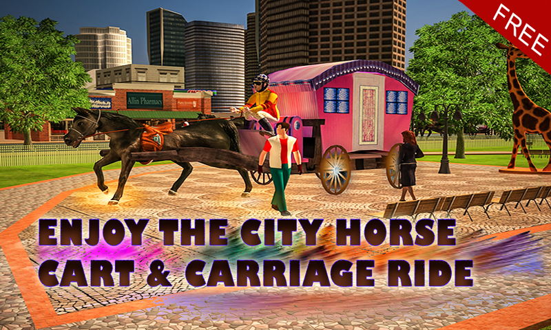 android Horse Carriage Transport Drive Screenshot 0