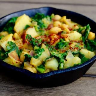 Curry Coconut Chickpea Dish Recipe