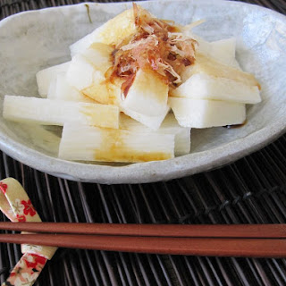 Japanese Mountain Yam (Nagaimo) Salad Recipe