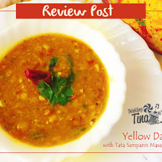 Yellow Dal Tadka - Indian Lentil Soup.