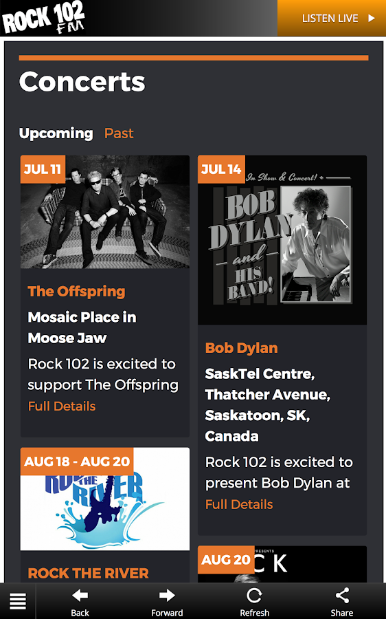 ROCK102- screenshot