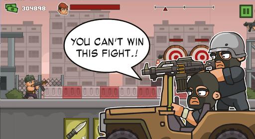 Trận đấu súng trong game Anti Terrorist Rush 2 mod
