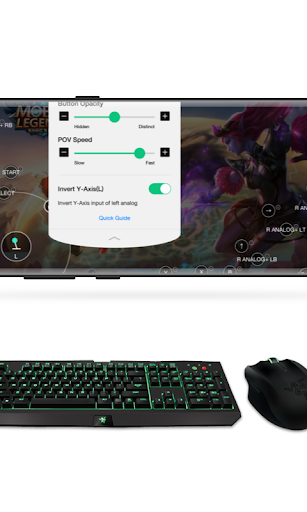 Octopus -  Play games with gamepad,mouse,keyboard 3.3.0 screenshots 2