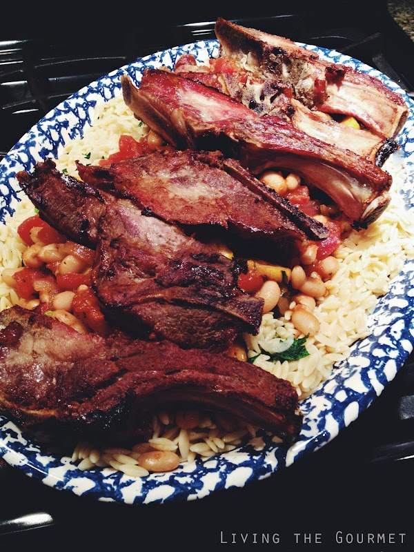 Country Ribs And Orzo Recipe