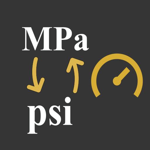 MPa to Psi / Megapascal to Psi Converter — Lietotnes