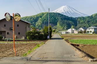 Photo: A country road near Mt Fuji in Yamanashi Prefecture, Japan