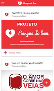 Sangue do Bem screenshot 1