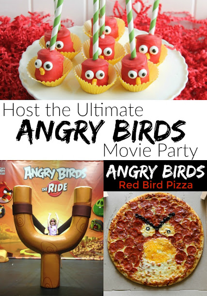 How to Host the Ultimate Angry Birds Party for the Whole Family!