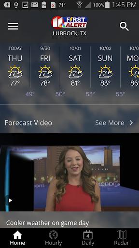 KCBD First Alert Weather  screenshots 5