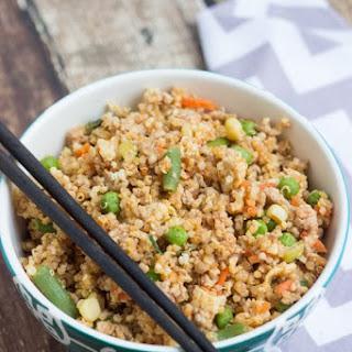 Quinoa Fried Rice with Pork.