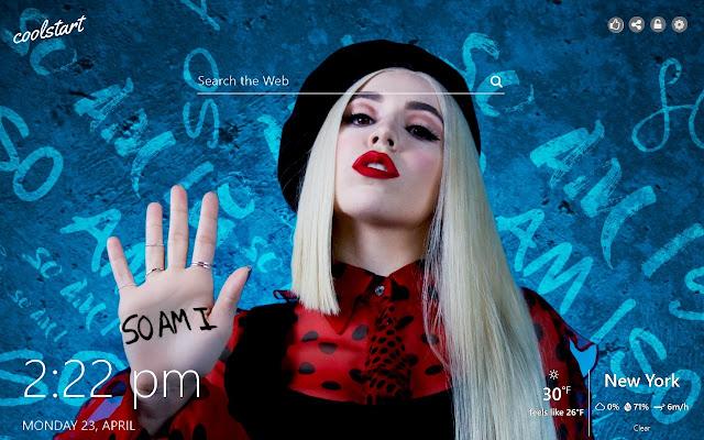 Ava Max HD Wallpapers Music New Tab Theme