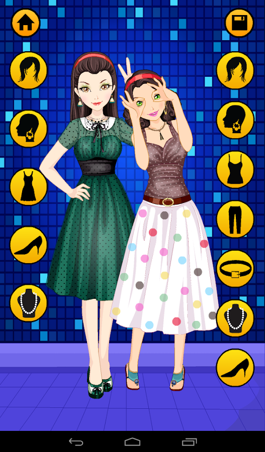 110+ Dress Up Games For Girls - #1 Fashion Stylist- screenshot