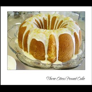 3 Citrus Pound Cake