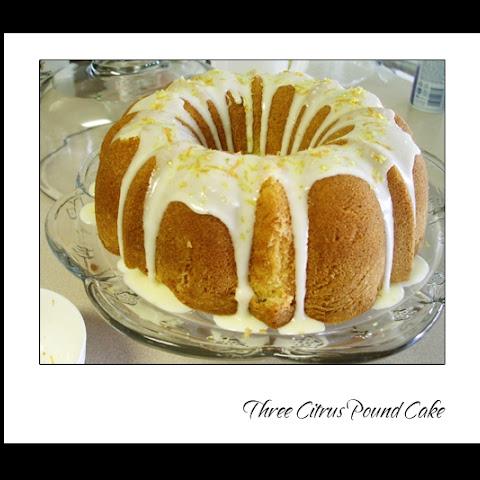Citrus Pound Cake Epicurious