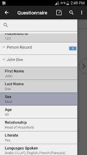 CSEntry CSPro Data Entry