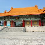 national theater at Chiang kai-Shek memoral hall in Taipei, T'ai-pei county, Taiwan