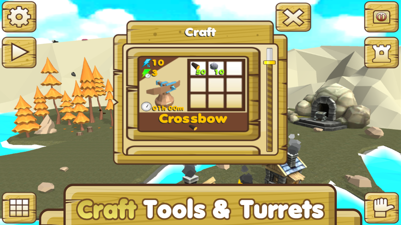 Tap 39 n 39 build 3d free tap crafting game android apps for Crafting and building app store