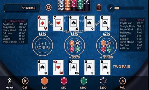 Caribbean Stud Poker 1.1.7 screenshots 4