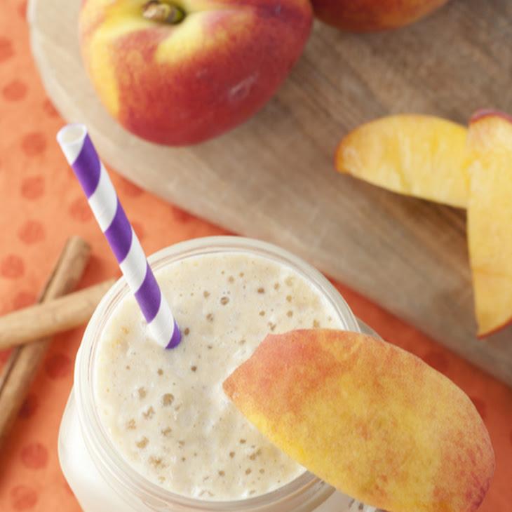 Peach Pie Protein Shake Recipe