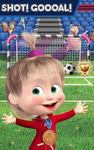Masha and the Bear: Football Games for kids 1.3.7 screenshots 19