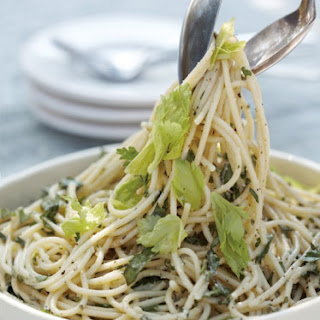 Spaghetti with Five-Herb Pesto