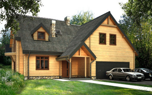 projekt D165 - Mietek wersja drewniana