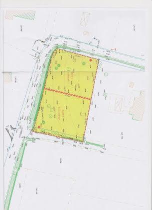 Vente terrain 1109 m2