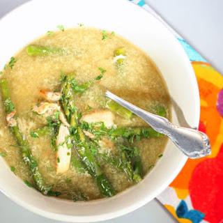 Asparagus Crab Egg Drop Soup