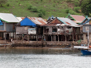 Photo: Kampung Komodo Village from the sea