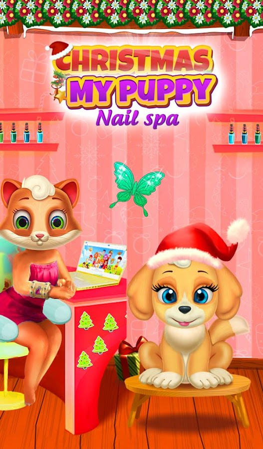 Christmas My Puppy Nail Spa- screenshot