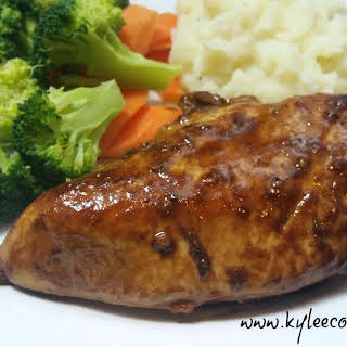 BALSAMIC GLAZED CHICKEN.
