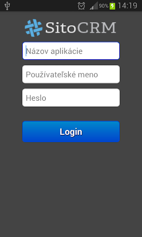 android Sito CRM Screenshot 0