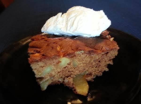 Easy One Bowl Apple Cake.  Also Called Swedish Pie If You Bake It In A Pie Plate.  This Recipe Would Make One 9x13 Cake Or Two Pies.