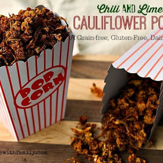 Chili Lime Cauliflower Popcorn.