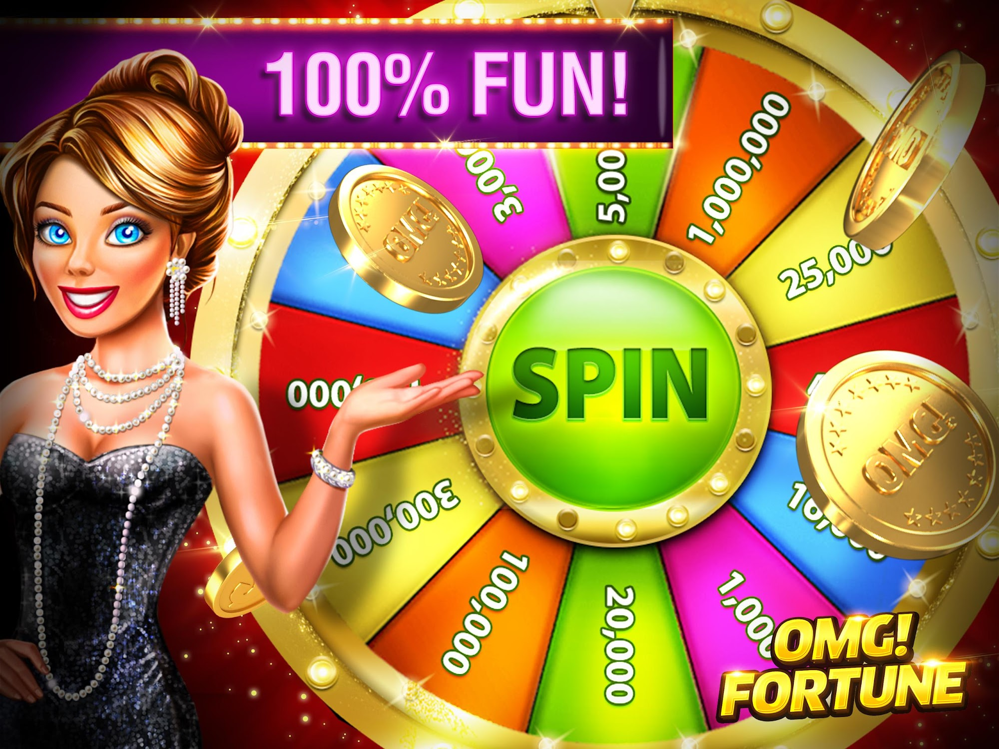 OMG! Fortune Free Slots Casino screenshot #9