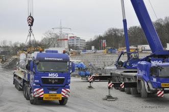 Photo: Die Schwerlast Convoi-Fahrzeuge