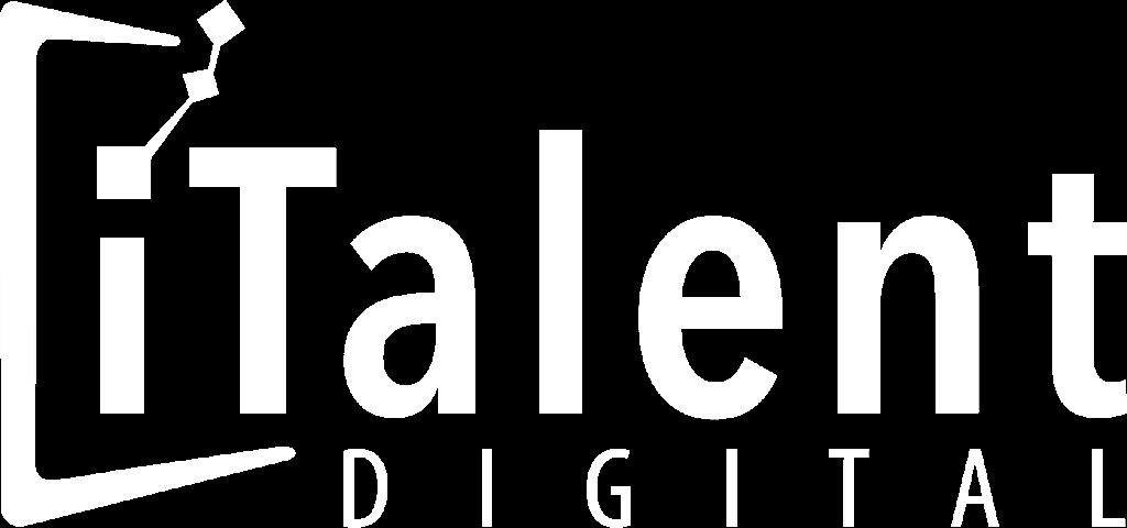 iTalent logo - white