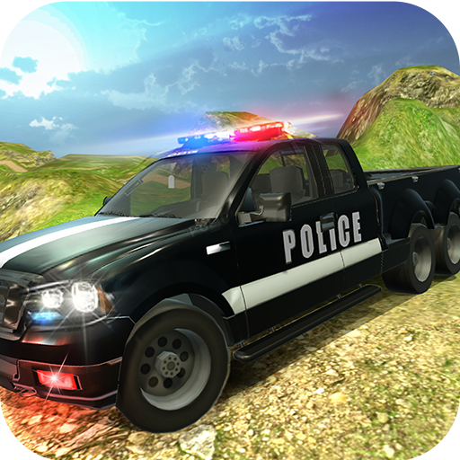 6x6 Offroad Police Truck Driving Simulator