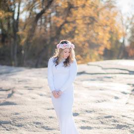 Winter bride by Teena Emerson - Wedding Bride ( winter, boho, bride )