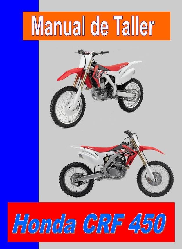 honda CRF 450 -manual-taller-mecanica-despiece