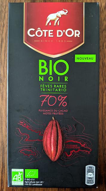 70% organic cote dor bar