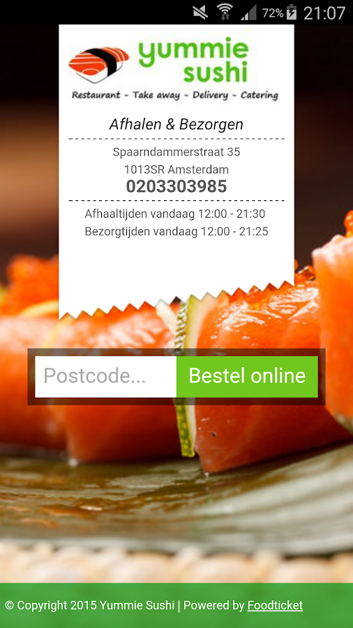 Yummie Sushi- screenshot