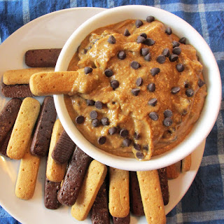 Chocolate Chip Cookie Dough Dip.