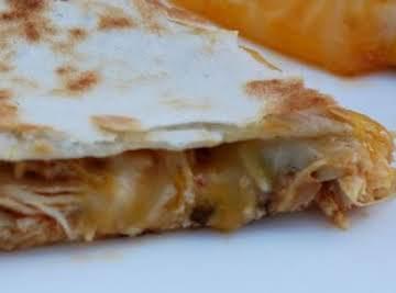 Cafe Rio Chicken Quesadillas