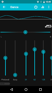 Rocket: Hudební přehrávač - náhled