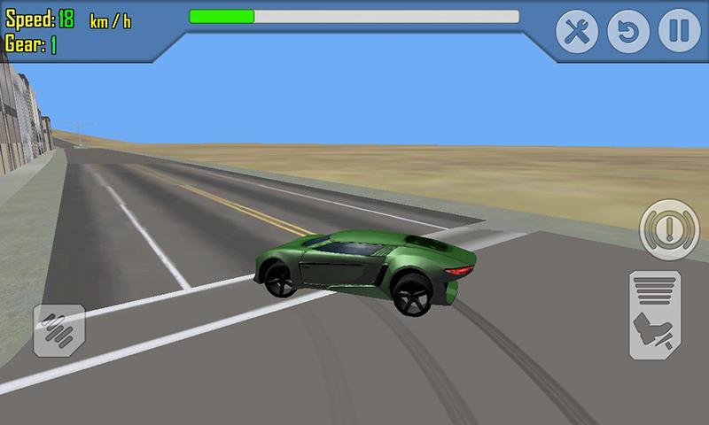 android Car Racing Simulator Driving Screenshot 3