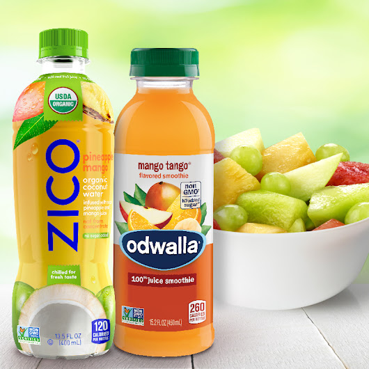 Save on Odwalla, Zico and fresh fruit - Behind The Studio