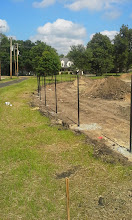 Photo: Left Field Fence 06-26-2014