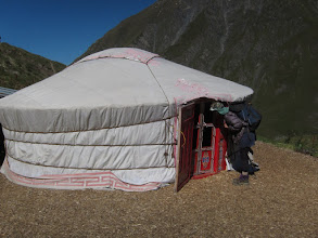 Photo: They even have an authentic yurt, should you want to spend the night.